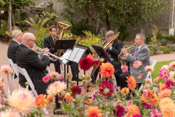 South Coast Brass in the Gardens c. Stan Sholik 2018