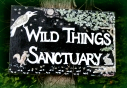 Wild Things Sanctuary sign