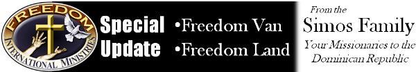 Freedom Van, Freedom Land!!