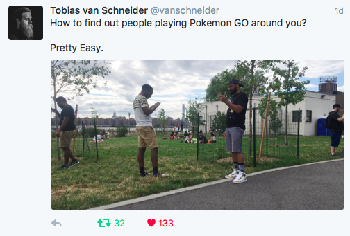 Pokemon Go shows the next dimension in life