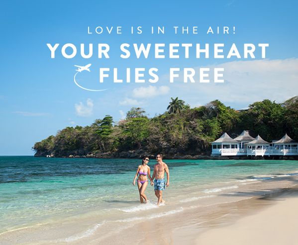 Love is in the Air! Your Sweetheart Flies Free.