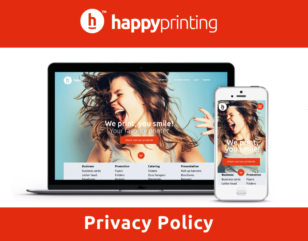 www.Happyprinting.nl - Fully Responsive web-shop