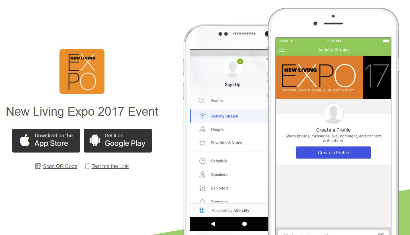 New Living Expo App