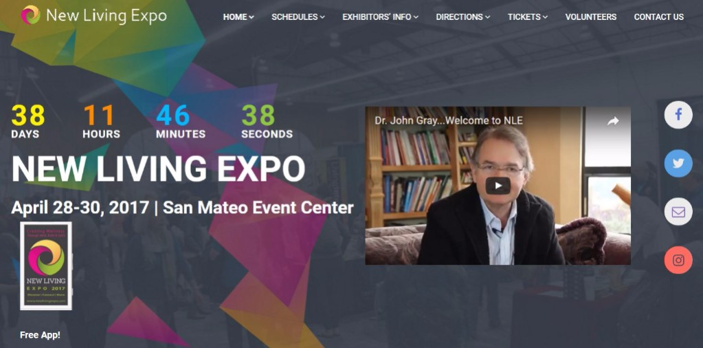 New Living Expo Home Page