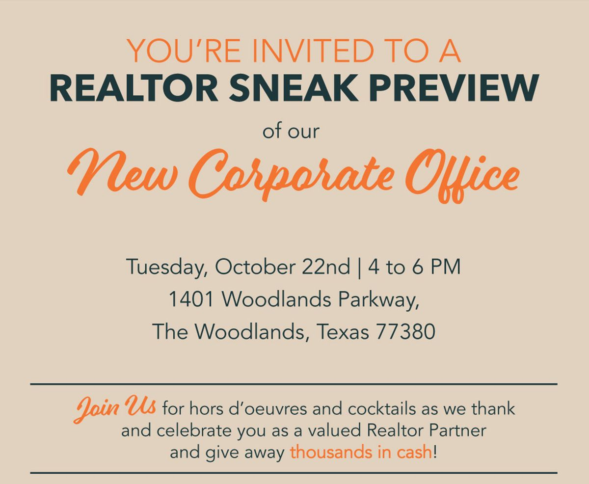 First America Homes Realtor Happy Hour