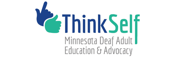 ThinkSelf Minnesota Adult Education & Advocacy banner logo