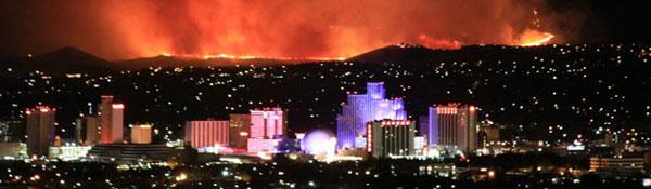 2011 Reno Caughlin Fire by Alexander Hoon