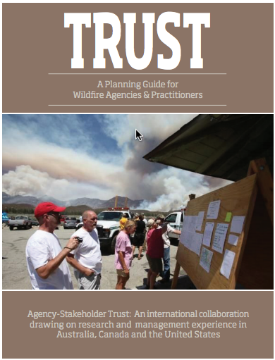 Cover - TRUST: A Planning Guide for Wildfire Agencies & Practitioners