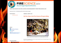 On Fire: The Official Blog of Firescience.gov