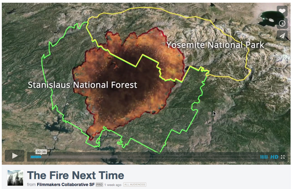"""Screen capture of fire map from """"The Fire Next Time"""""""