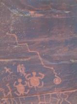 Petroglyph Wall in Sedona