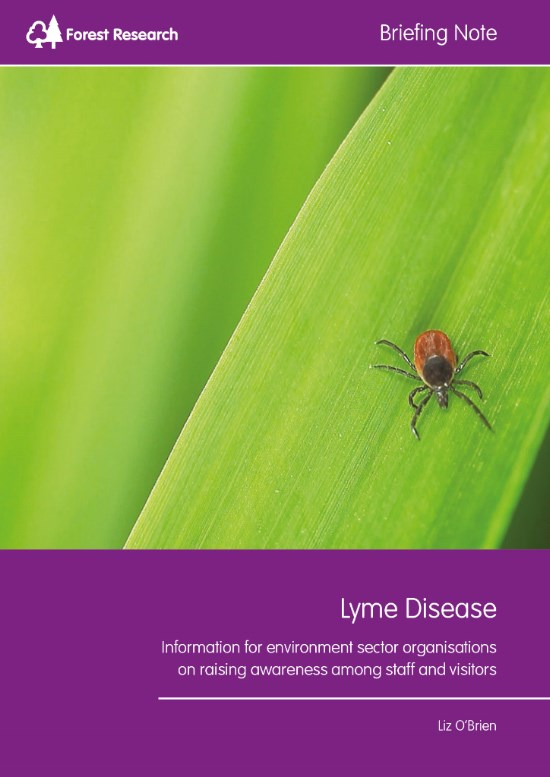 Cover of Lyme Disease Briefing Note
