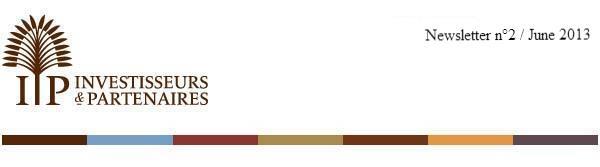 La lettre d'Investisseurs et Partenaires - n°1 / Mars 2013