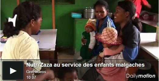 Nutrizza au service des enfants malgaches - video