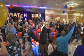 University of Arizona med students celebrate the moment they can open their announcements for Match Day 2019.