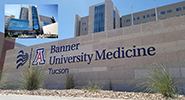 Entrance to new Banner - UMC Tucson hospital tower