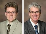 Drs. Steve Black and Larry Mandarino