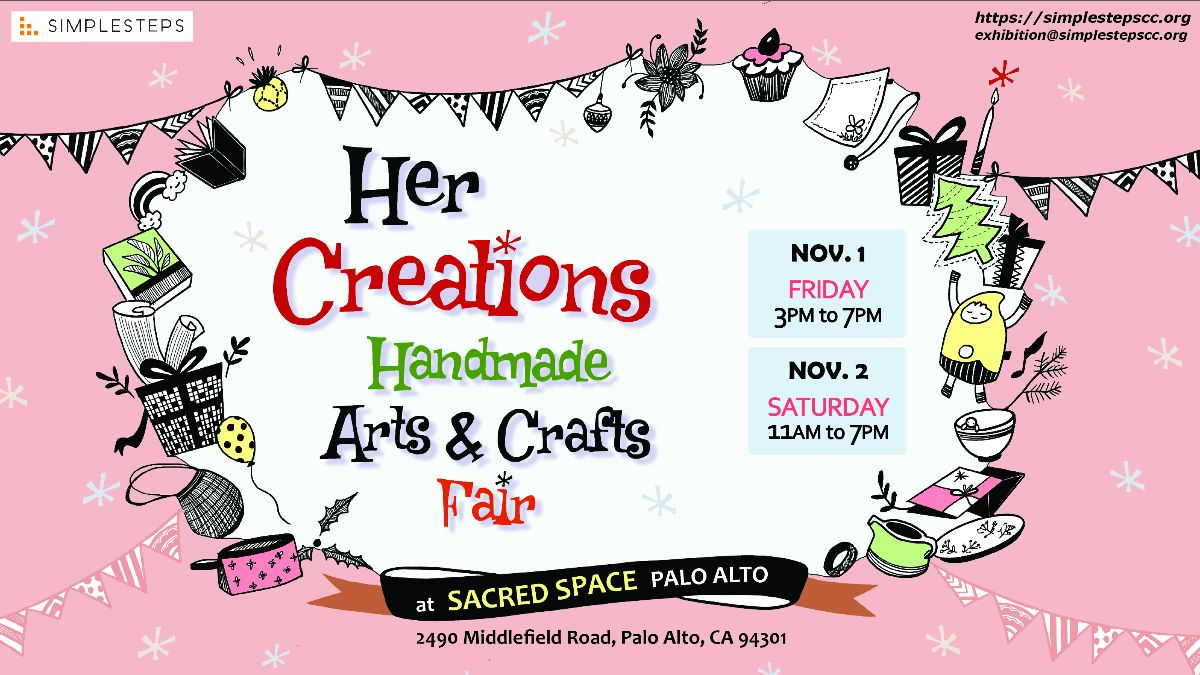 SAVE THE DATE: Arts & Crafts Fair on Nov 1&2