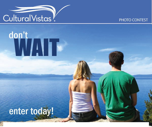 Enter the Cultural Vistas Picture This! Photo Contest