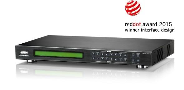 8 x 8 DVI Matrix Switch with Scaler
