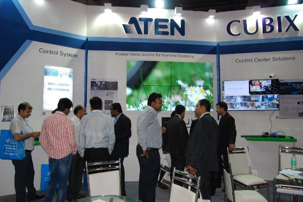 InfoComm India ATEN Booth