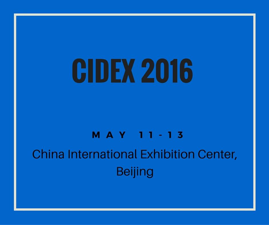 CIDEX 2016