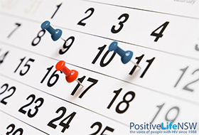 What's On at Positive Life?