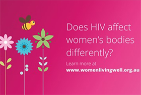 Women with HIV living well