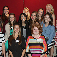 Department of Interior Design recognized 25 outstanding interior design students