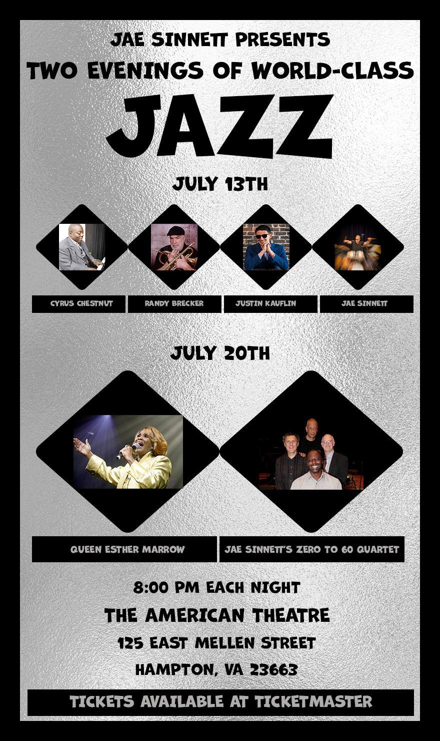 The Phoebus Jazz Summer Music Series