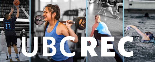 UBC Recreation Header