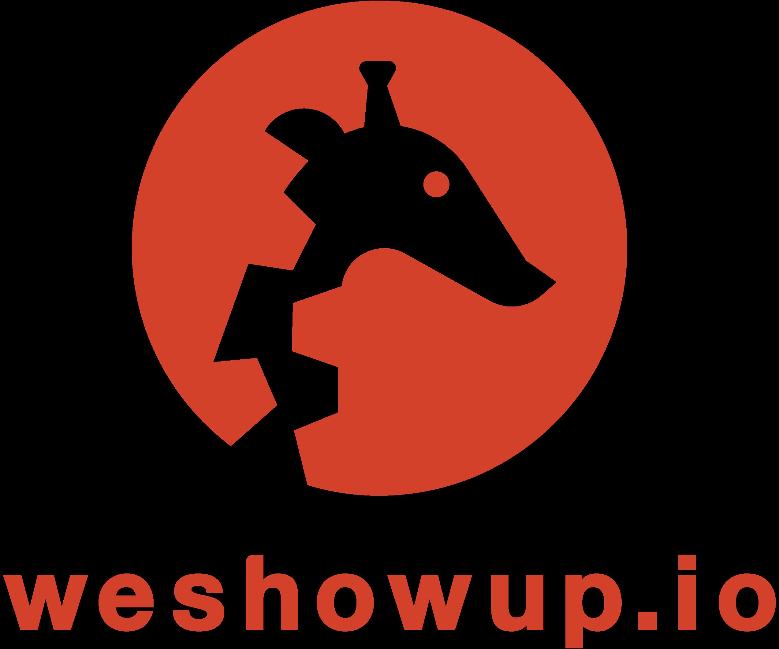 weshowup.io logo