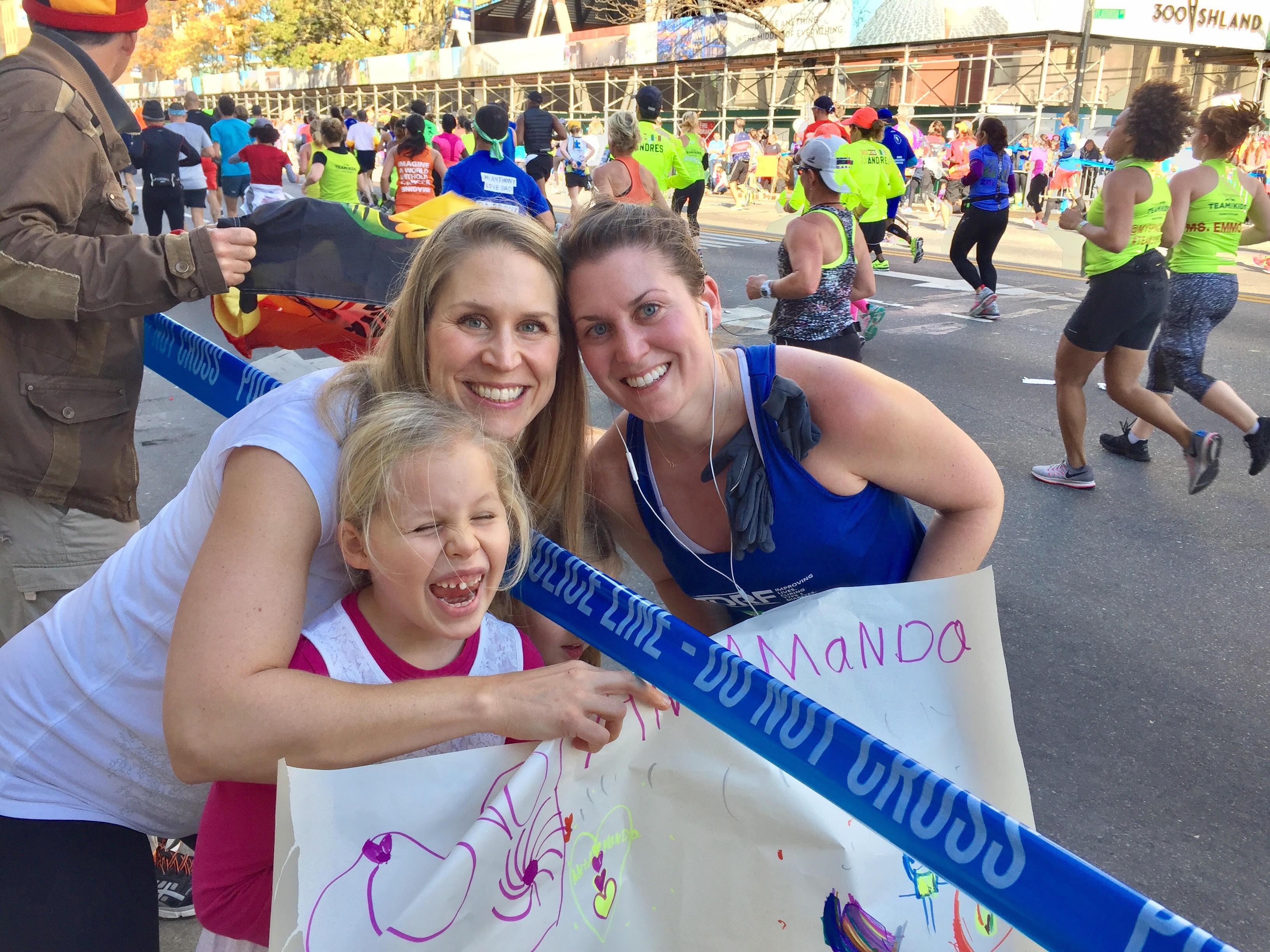 Amanda at Mile 8