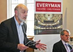 Geoffrey Rowe, MD of the Everyman Theatre, Cheltenham
