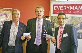 Cheltenham Chamber Business Lunch, Prize Presentation