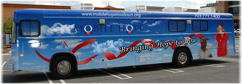 Mobile Hope bus servers Loudoun Area residents