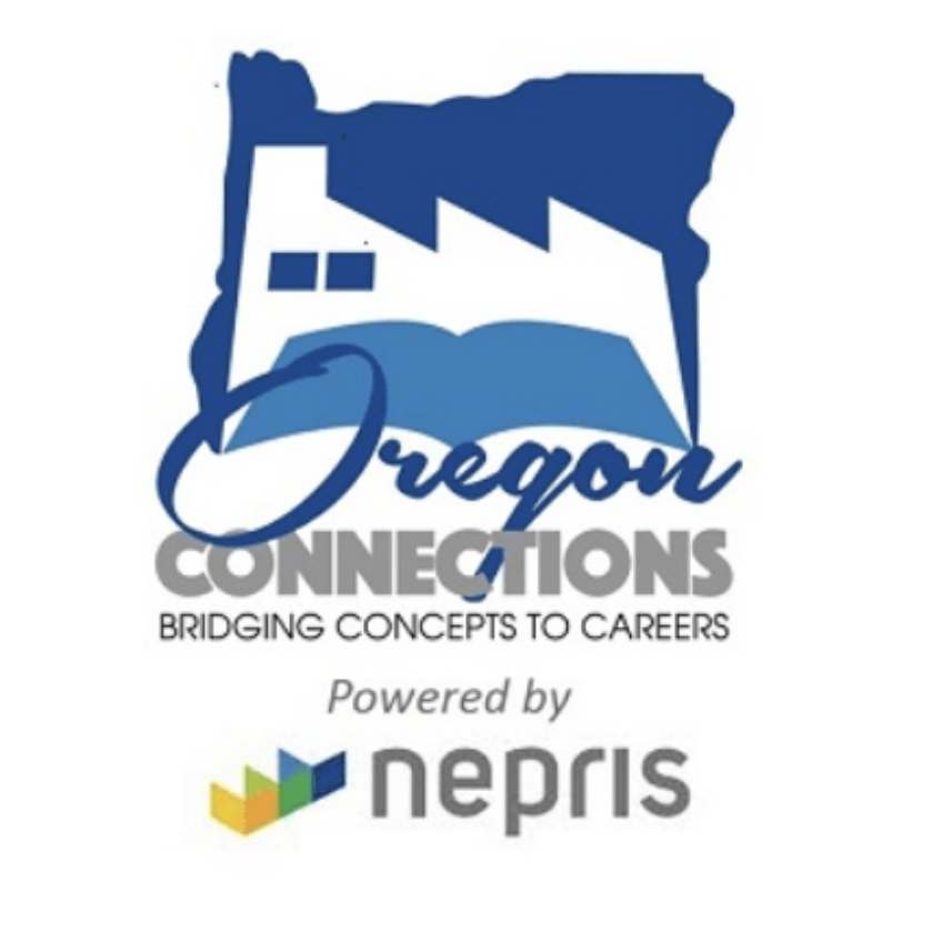 Oregon Connections and Nepris logos. Photo: STEMOregon