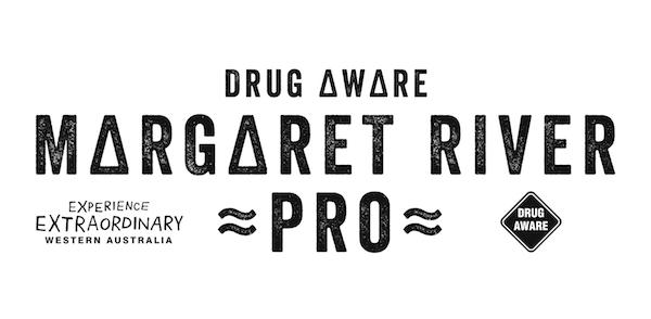 Drug Aware Margaret River Pro logo
