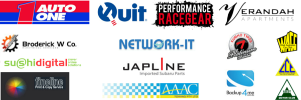 RallyWA sponsor logos