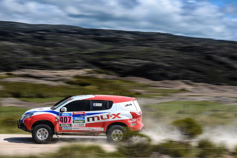 Dakar 2015 Stage 2 car407