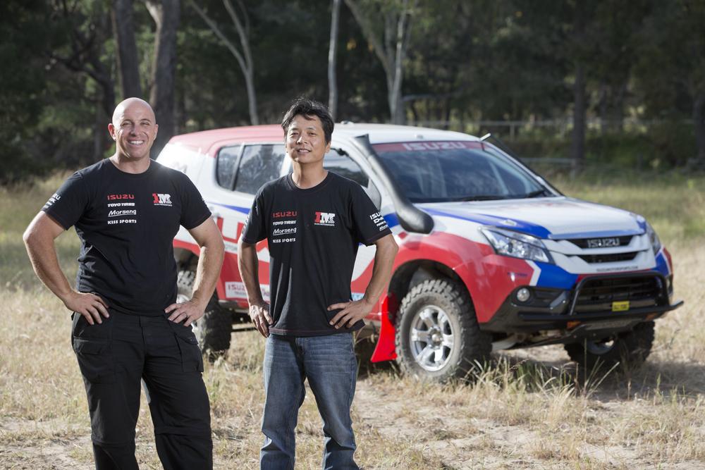 Adrian Di Lallo and Harry Suzuki