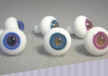 12mm Glass Sparkle Pupil Doll Eyes (SPDE-1)