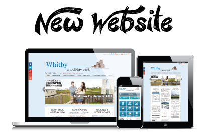 New Whitby Holiday Park Website