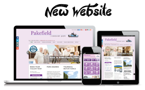 Visit Pakefield Caravan Parks New Website