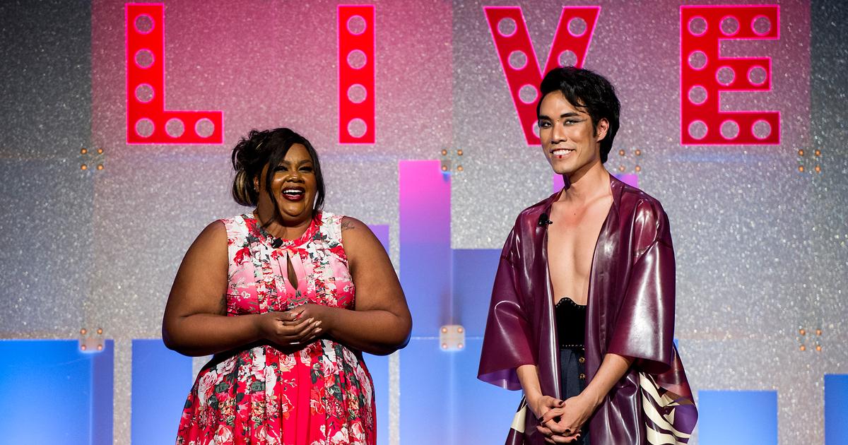 TrevorLIVE NY 2019 Hosts Nicole Byer & Eugene Lee Yang