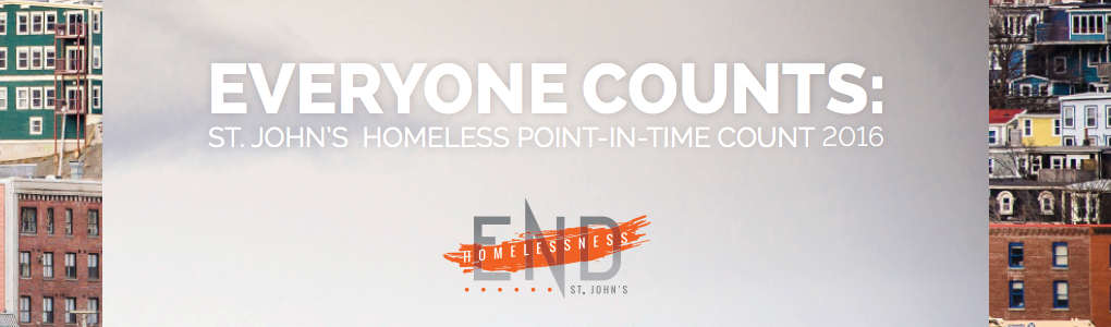 Everyone Counts: St. John's Point-in-Time Count 2016