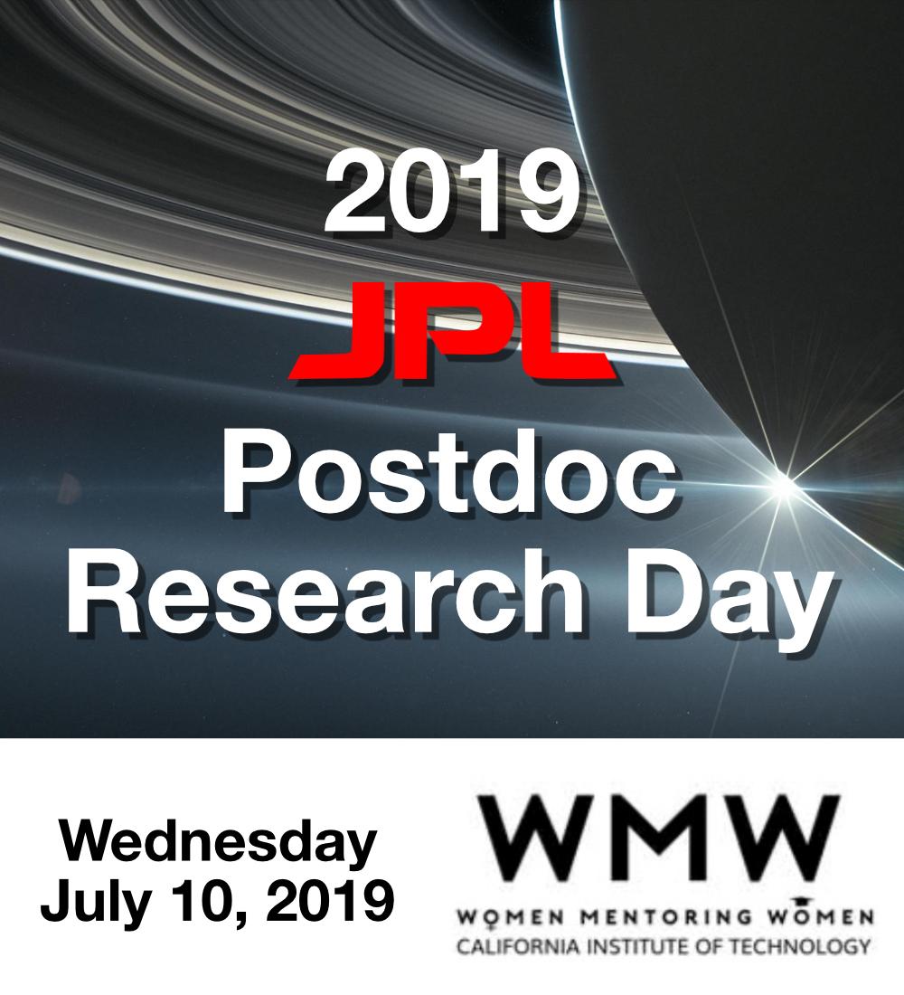JPL postdoc research day