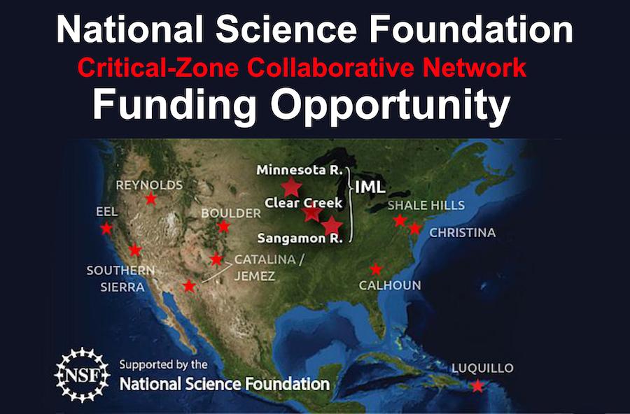 NSF critical zone collaborate network
