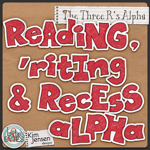 The Three R's Alpha