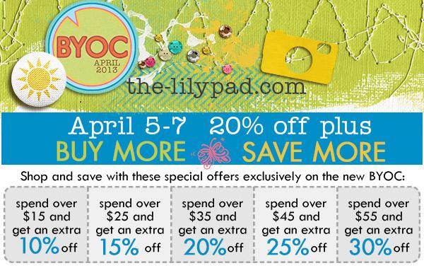 April BYOC deals